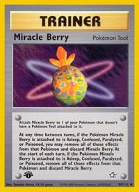 Miracle Berry, Pokemon, Neo Genesis