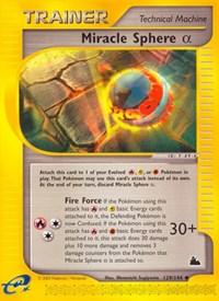 Miracle Sphere Alpha, Pokemon, Skyridge