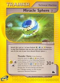 Miracle Sphere Gamma, Pokemon, Skyridge