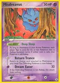 Misdreavus, Pokemon, Legend Maker