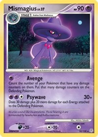 Mismagius, Pokemon, Diamond and Pearl