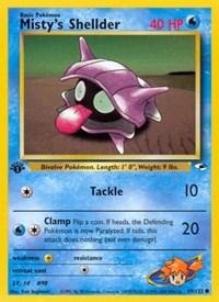 Misty's Shellder, Pokemon, Gym Heroes