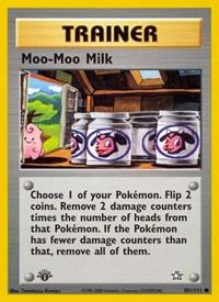 Moo-Moo Milk, Pokemon, Neo Genesis