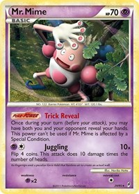 Mr. Mime, Pokemon, Call of Legends