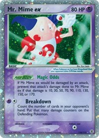 Mr. Mime ex (110), Pokemon, FireRed & LeafGreen