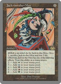 Jack-in-the-Mox, Magic: The Gathering, Unglued