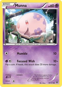 Munna, Pokemon, Plasma Blast