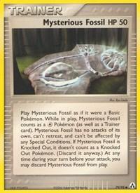 Mysterious Fossil, Pokemon, Legend Maker