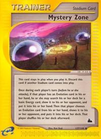 Mystery Zone, Pokemon, Skyridge