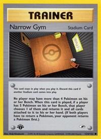 Narrow Gym, Pokemon, Gym Heroes