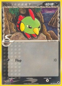 Natu (Delta Species), Pokemon, Dragon Frontiers