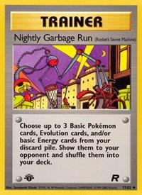 Nightly Garbage Run, Pokemon, Team Rocket