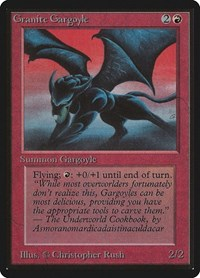Granite Gargoyle, Magic, Beta Edition