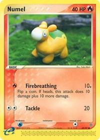 Numel (69), Pokemon, Dragon