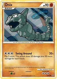 Onix (57), Pokemon, Unleashed