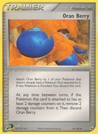 Oran Berry, Pokemon, Ruby and Sapphire