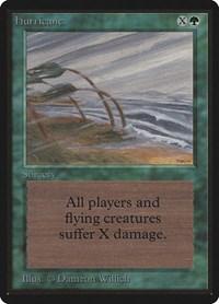Hurricane, Magic: The Gathering, Beta Edition