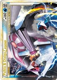 Palkia & Dialga Legend (Top), Pokemon, Triumphant