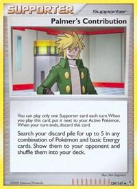 Palmer's Contribution, Pokemon, Supreme Victors