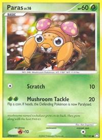 Paras, Pokemon, Mysterious Treasures