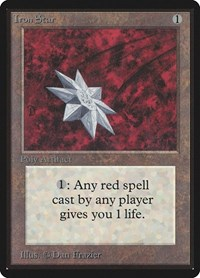 Iron Star, Magic: The Gathering, Beta Edition