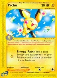 Pichu (58), Pokemon, Expedition
