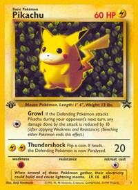 Pikachu (Misprint), Pokemon, WoTC Promo