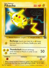 Pikachu (Movie Promo), Pokemon, WoTC Promo
