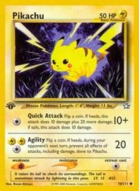 Pikachu, Pokemon, Neo Genesis