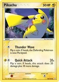 Pikachu, Pokemon, Holon Phantoms