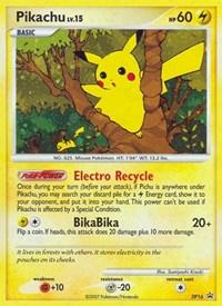 Pikachu, Pokemon, Diamond and Pearl Promos
