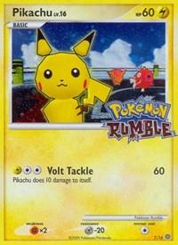 Pikachu, Pokemon, Rumble