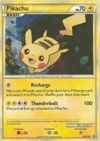 Pikachu, Pokemon, HGSS Promos