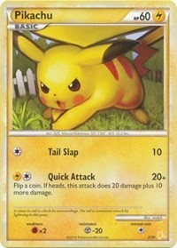 Pikachu (#16), Pokemon, HGSS Trainer Kit: Gyarados & Raichu