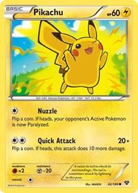 Pikachu, Pokemon, XY Base Set