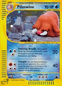 Piloswine (H22), Pokemon, Skyridge
