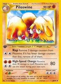 Piloswine, Pokemon, Neo Revelation
