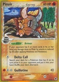 Pinsir (Delta Species), Pokemon, Dragon Frontiers