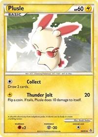 Plusle, Pokemon, Unleashed