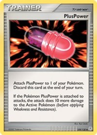 PlusPower, Pokemon, Diamond and Pearl