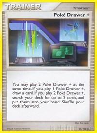 Poke Drawer +, Pokemon, Stormfront