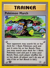 Pokemon March, Pokemon, Neo Genesis