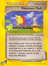 Pokemon Park, Pokemon, Aquapolis