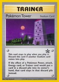 Pokemon Tower, Pokemon, WoTC Promo