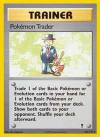 Pokemon Trader, Pokemon, Legendary Collection