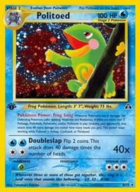 Politoed (8), Pokemon, Neo Discovery