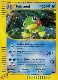 Politoed (H23), Pokemon, Skyridge