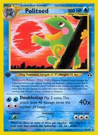 Politoed (27), Pokemon, Neo Discovery