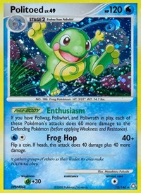 Politoed, Pokemon, Legends Awakened