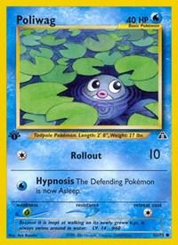 Poliwag, Pokemon, Neo Discovery